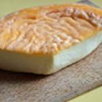 Gratin andouillette au Langres Trancher le fromage