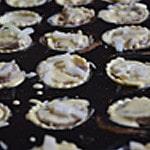 Feuilettés à l'andouillette Semer un peu de fromage