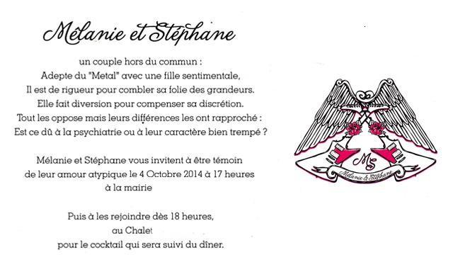 Mariage de Mélanie et Stéphane