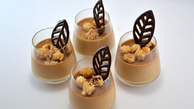 Panna cotta aux nuts Terminer