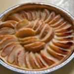Tarte à la pomme Pommes cuites