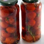 Tomates cerise et romarin Terminer