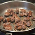 Rognon de veau persillé Griller les rognons