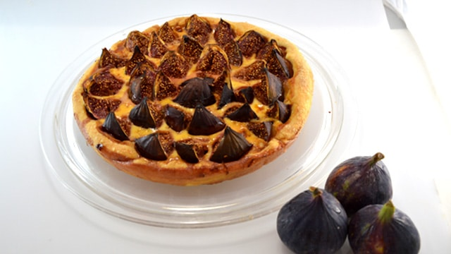 Tarte aux figues Terminer