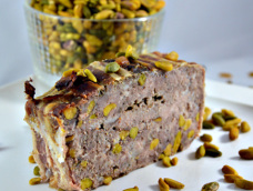 Terrine de chevreuil et pistache