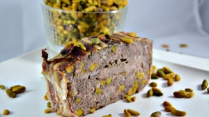Recette de Terrine de chevreuil au pistache