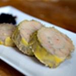 Crème brulée au truffe Trancher le foie gras