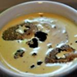 Crème brulée au truffe Ajouter les truffes à la crème