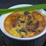 Crème brulée au truffe La crème cuite