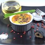 Crème brulée et truffe