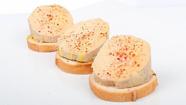 Foie gras saveur pain d'épices
