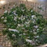 Sauce aux champignons Saisir persil et ail