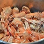 Soufflé aux langoustines Saisir les carcasses