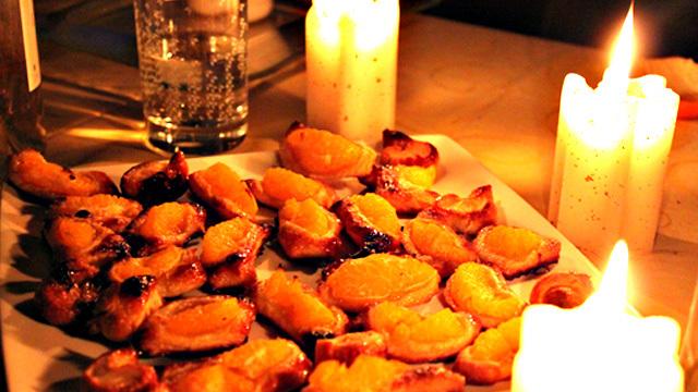 Tartelette aux clémentines