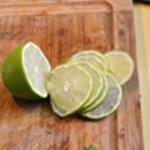 Dos de cabillaud au citron Trancher le citron