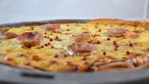 Recette de Pizza Franc comtoise