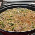 Soupe Chinoise au boeuf Ajouter les germes de soja