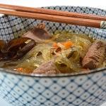 Soupe Chinoise au boeuf Terminer