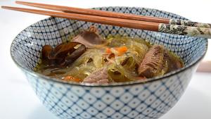 Recette de Soupe Chinoise au boeuf