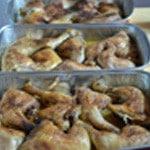Lassagnes poulet champignons Cuire le poulet