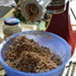 Lassagnes poulet champignons Hacher la viande