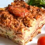 Lasagnes au poulet et champignons