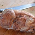 Parmentier maïs et poulet Désossé le poulet fumé