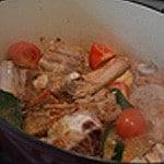 Blanquette de veau légère Déglacer avec la soja