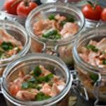 Lasagnes saumon et oseille Ajouter le saumon