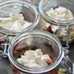 Lasagnes saumon et oseille Ajouter la ricotta