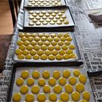 Macarons au citron Les macarons croutes