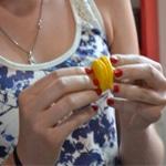 Macarons au citron Coller l'autre demi macaron