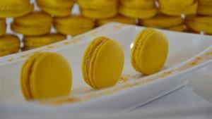 Macarons au citron terminer