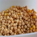 Salade de quinoa Egoutter les pois chiche