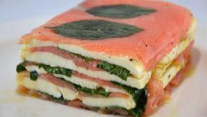 Recette de Saumon en terrine à la Mozzarella