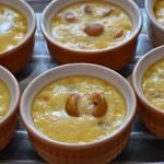 Crème brulée à la mirabelle Crème cuite