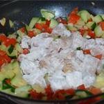 Poulet aux noix de cajun Ajouter le poulet