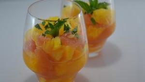 Recette de Salade aux agrumes