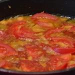 Aubergines au pois chiches Ajouter les tomates