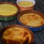 Crème brulée au miel de châtaignier Cuire la crème