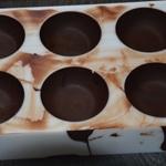 Coque chocolat Arroser proprement