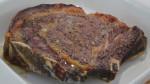 Côte de bœuf au four