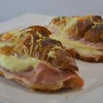 Croissants à la mozzarella