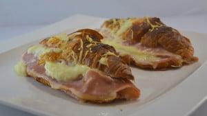 Recette de Croissants à la mozzarella