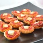 Feuilletés à la tomate et feta