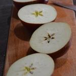 Pommes caramélisées au four Trancher les pommes