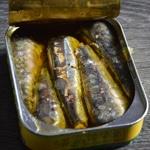 Rillettes à la sardine Egoutter les rillettes