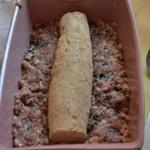 Terrine de canard au foie gras Ajouter le foie gras