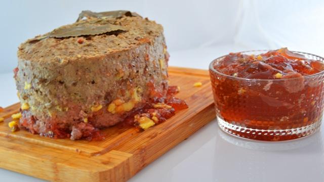 Terrine de canard au foie gras Terminer