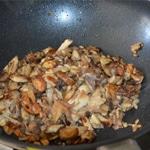 Velouté de cèpes Saisir dans le beurre